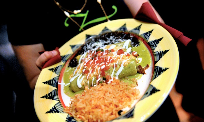 Zapatista - Multiple Locations: Fajitas de Mocaljete, Enchiladas, or Tacos for Two or Four at Zapatista (Up to 51% Off)