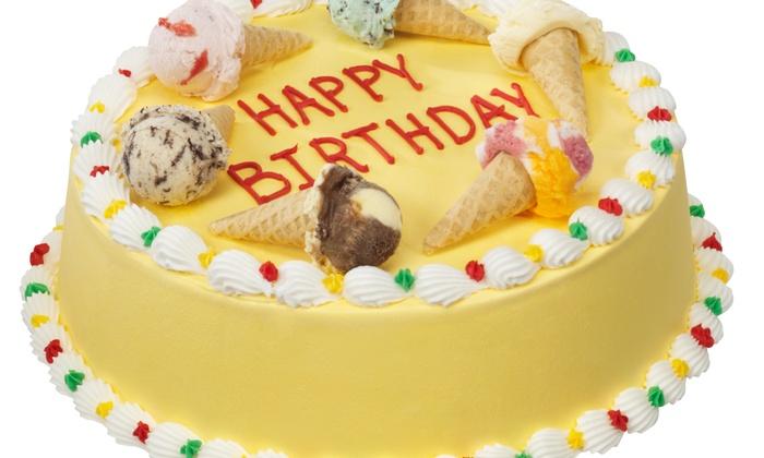 Baskin Robbins Christie Bloor C 12 For 20 Towards Ice Cream Cakes