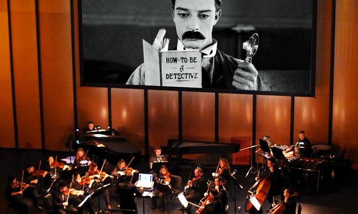 "Dallas Chamber Symphony presents ""Sherlock, Jr."" - Dallas City Performance Hall: Dallas Chamber Symphony Presents ""Sherlock, Jr."" at Dallas City Performance Hall on February 25 (Up to Half Off)"