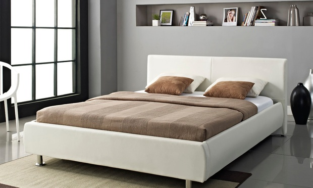 Orion bed with mattress groupon goods for Beds groupon