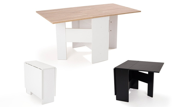 table console rabattable table de runion ebba rabattable with table console rabattable. Black Bedroom Furniture Sets. Home Design Ideas