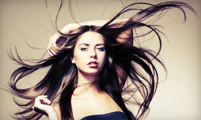 Hair Extension Room - Irondequoit: Eyelash Extensions or Hair Extensions at Hair Extension Room (Up to 75% Off)