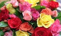 GROUPON: 50% Off Flower Bouquets and Arrangements University Flower Shop