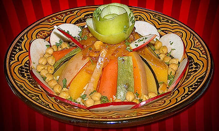 Kasbah Village Moroccan Cuisine - Ottawa: Moroccan Meal for Two or Four for Dinner at Kasbah Village Moroccan Cuisine (Up to 55% Off)
