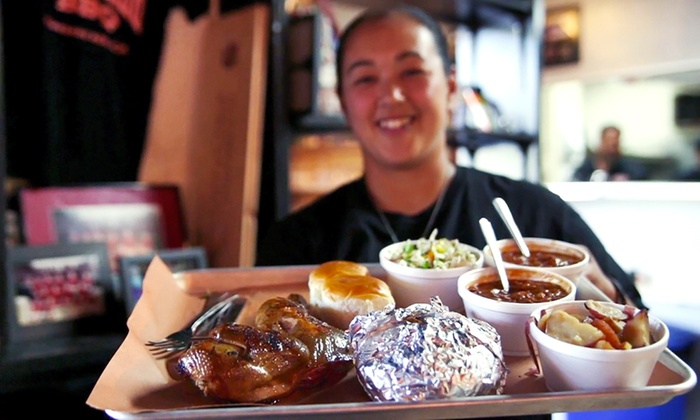 Slow Hand BBQ - Pleasant Hill: Barbecue for Two or Four at Slow Hand BBQ (38% Off)