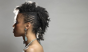 Altruistic Hair Design & Salon: Cornrows from ALtruistic Hair Design and Salon (60% Off)