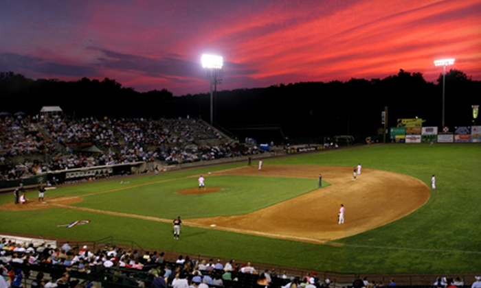 New Britain Rock Cats - New Britain Stadium: $14 for a New Britain Rock Cats Baseball Game for Two at New Britain Stadium ($27 Value). Four Dates Available.