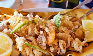 Ristorante Belvedere (Proserpio): Fino a 2 kg di fritto misto di pesce e un litro di vino per 2 o 4 persone da Ristorante Belvedere (sconto fino a 59%)