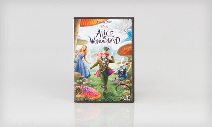 Alice in Wonderland on DVD: $5.99 for Alice in Wonderland on DVD ($19.99 List Price)