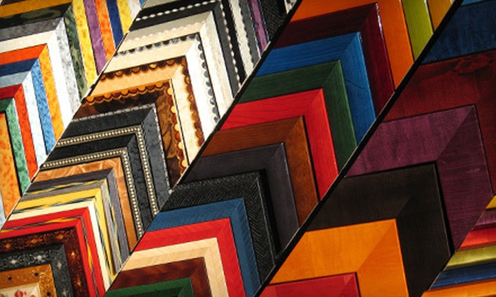 Paul Mahder Gallery - Presidio Heights: $49 for $125 Worth of Custom-Framing Services at Paul Mahder Gallery