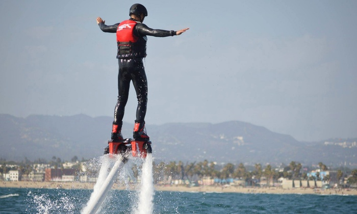 LA Flyboard - Marina Del Ray: Three-Hour Flyboarding or Hoverboarding Experience for Two, Four, or Six at LA Flyboard (Up to 52% Off)