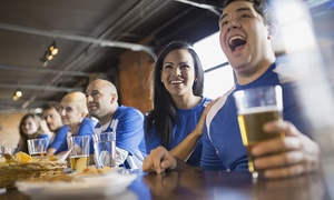 Boulevard Sports Lounge: Craft Beer and Cider at Boulevard Sports Lounge (Up to 40% Off). Two Options Available.