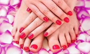 She Does Nails (Amazin Blue Salon): A Manicure and Pedicure from She Does Nails (Amazin Blue Salon) (29% Off)