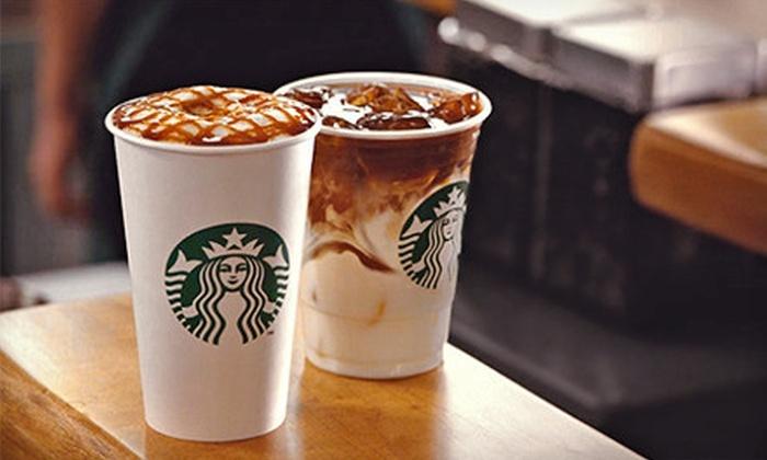 Starbucks: C$5 for a C$10 Starbucks Card eGift