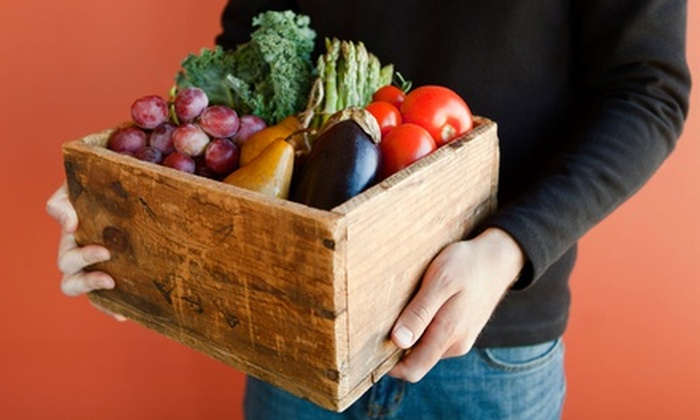 Organic Mountain Farms: Organic Fruit and Vegetable Delivery from Organic Mountain Farms (Half Off). Two Options Available.