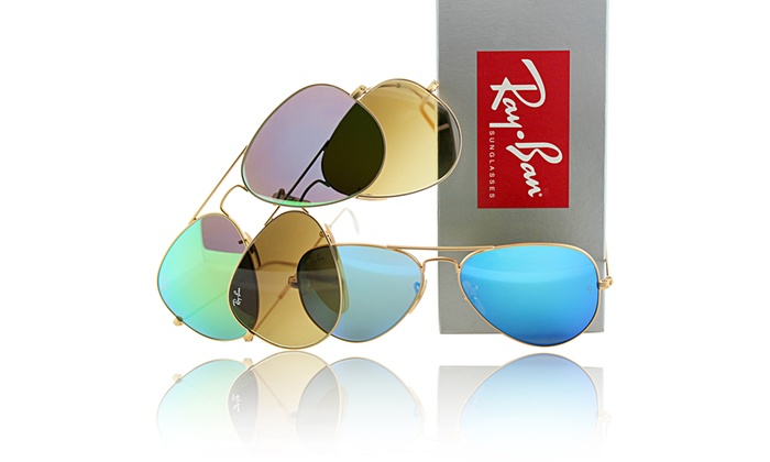 Rayban Aviator Sunglasses  35 off on ray ban aviator sunglasses groupon goods