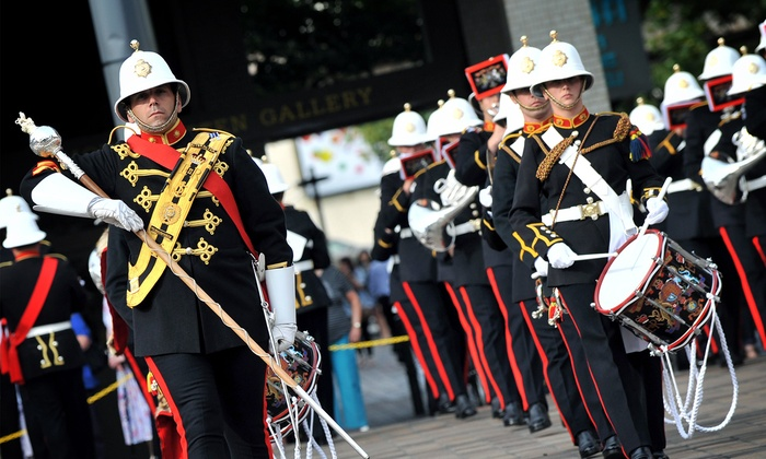 The Royal Marines - Lehman Center for the Performing Arts: The Band of the Royal Marines on January 17 at 4 p.m.