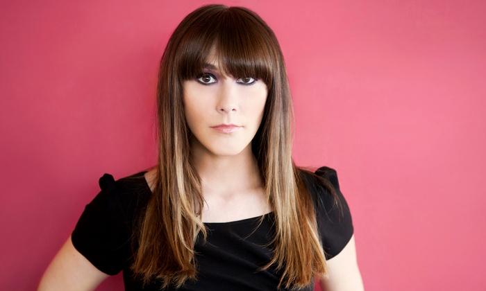 Angela at Studio 25 - Asheville: Brazilian Blowout with Optional Haircut with Angela at Studio 25 (Up to 53% Off)