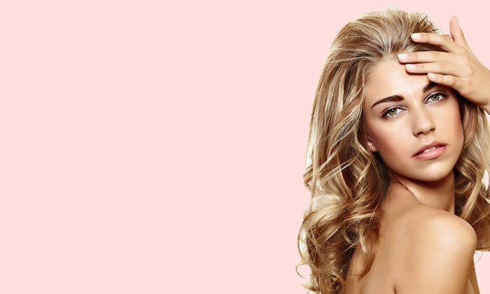 Shear Excitement Salon - Pompano Beach: Haircut and Blow-Dry with Optional Gloss and Root Touchup or Highlights at Shear Excitement Salon (Up to 53% Off)