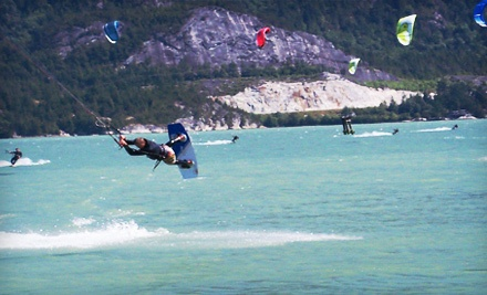 3-Hour Kiteboarding Package for 1 (a $298 value) - Aerial Kiteboarding in Squamish