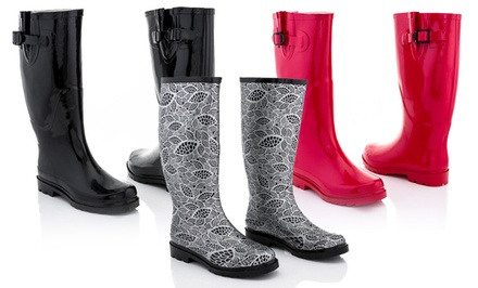 Rasolli Women's Rain Boots. Multiple Styles Available. Free Returns.
