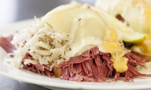 Z's Cafe & Chicago Deli: $18 for $30 Worth of Sandwiches, Chicago-style food & Drinks for Lunch for Two at Z's Cafe & Chicago Deli