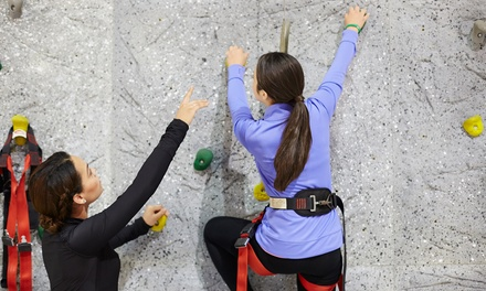 $12 for a One-Day Rock-Climbing Pass with Gear Rental for Two at Hansen Mountaineering($24 Value)