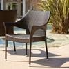 Set of 2 Del Mar Outdoor Wicker Armchairs
