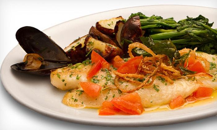Il Farro - Newport Pier: Prix Fixe Italian Dinner for Two or Four at Il Farro (Up to 52% Off)
