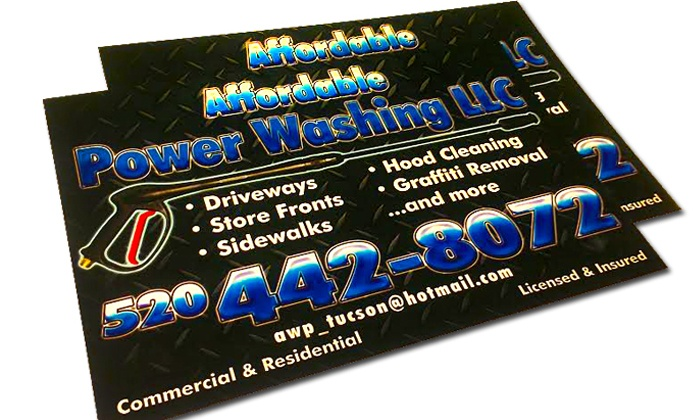 Az House Of Graphix - Amphi: One Pair of Full Color Vehicle Magnets at AZ House of Graphix (49% Off)