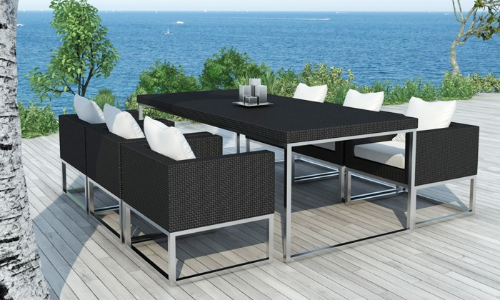 salon de jardin marbella groupon shopping. Black Bedroom Furniture Sets. Home Design Ideas