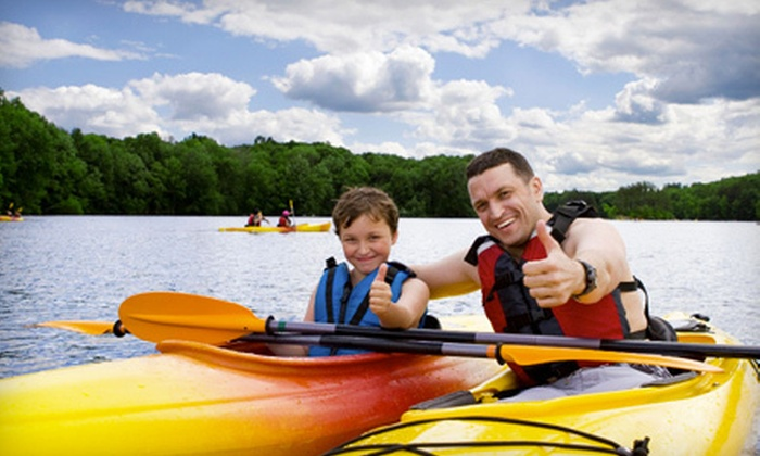 Wolf River Adventures - Multiple Locations: Full-Day Kayak Rental for One or Two at Wolf River Adventures in Shiocton (Up to 56% Off)