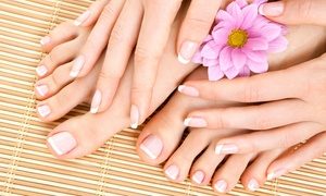 Cape Cod Nails and Spa: Galvanic Spa Mani-Pedi and 60-Minute Multivitamin Facial for One or Two at Cape Cod Nails and Spa (Up to 62% Off)