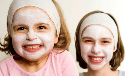 Kids' Spa Party or Kids' Mani-Pedi and Makeup for One or Two at Sassy Princess Spa (Up to 50% Off)