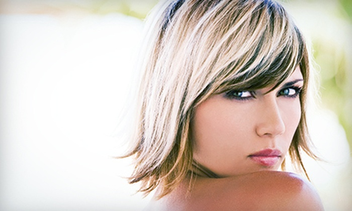 Phoenix Salon & Spa - Phoenix Salon & Spa: Haircut with Options for Full or Ombre Highlights, or Keratin Treatment at Phoenix Salon & Spa (Up to 65% Off)