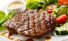 La Pampa Steakhouse und Tapasbar - Bielefeld: Steak mit jeweils 2 Beilagen nach Wahl und Salat für Zwei, Vier od. Sechs im La Pampa Steakhouse und Tapasbar ab 39,90 €