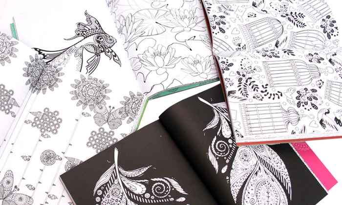 Up To 62% Off on Adult Coloring Book Collection | Groupon Goods