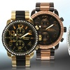 Geneva Platinum Flashy Men's Watch