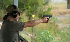 Buffalo Range Shooting Park: Concealed Carry Class and Three Range Passes for One or Two at Buffalo Range Shooting Park (Up to 42% Off)