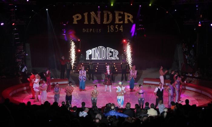 Cirque Pinder - Cirque Pinder - Paris: 1 place orchestre pour assister au spectacle du Cirque Pinder, date et heure au choix, à 15 € à Paris