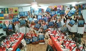Paint and Pour: $19.99 for Two-Hour Painting Class for One at Paint and Pour Romeo ($35 Value)