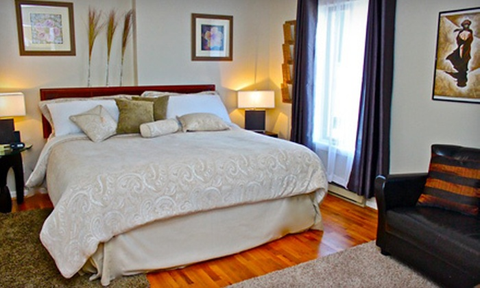 Abadin Bed and Breakfast - L'Orignal: $184 for a Two-Night Stay for Two with Wine, Handmade Soap, and Snack Basket at Abadin Bed and Breakfast ($358 Value)