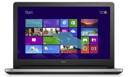 Dell Inspiron 15.6'' Touchscreen Laptop with Intel Core i5-5200U Processor and 12GB RAM (Manufacturer Refurbished)