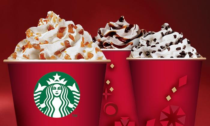 Starbucks: $5 for a $10 Starbucks Card eGift