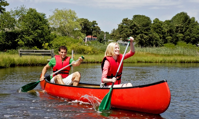 Canoe the Caney - Santa's Toy Boat Workshop A.K.A. Canoe the Caney: Six-Mile Canoe Trip for Two from Canoe the Caney (42% Off)