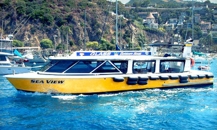 Catalina Adventure Tours - Catalina Adventure Tours: Glass-Bottom-Boat Tour for Two or Four from Catalina Adventure Tours in Avalon (Up to 55% Off)