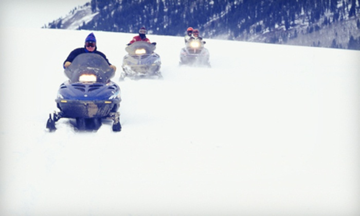 Good Times Adventures - Breckenridge: $65 for a Two-Hour Snowmobile Tour from Good Times Adventures ($110 Value)