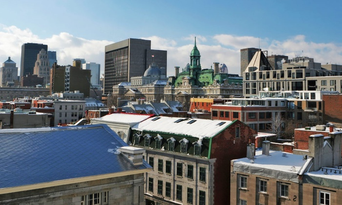 null - Boston: Stay with Spa Access at Le Nouvel Hotel and Spa in Montreal, QC