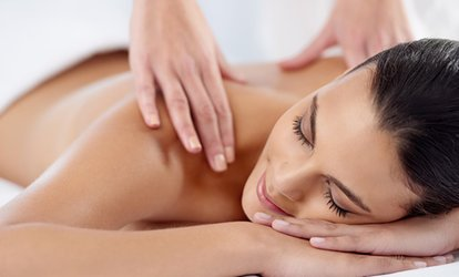 image for One Full Body Massage with Hot-Pack Therapy at Santa Barbara Massage and <strong>Rolfing</strong>® (Up to 70% Off)