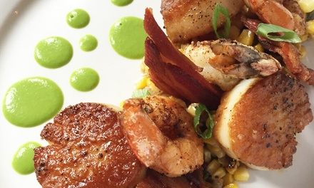 French-Creole Dinner for Two or Four at Apolline Restaurant (Up to 41% Off). Groupon Reservation Required.